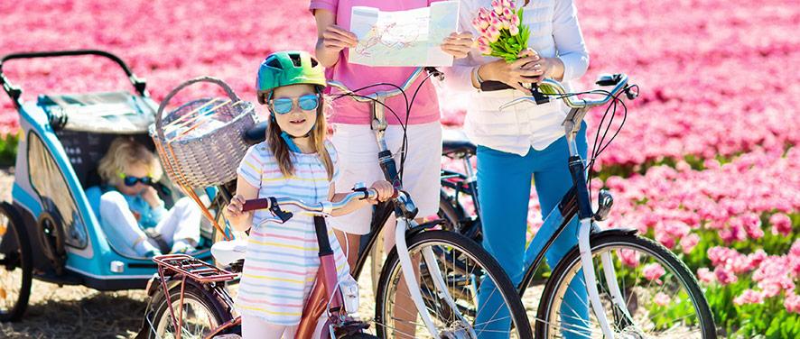 Bra betyg för Thule cykelvagn